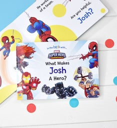 Personalized Marvel What Makes Me a Hero Board Book