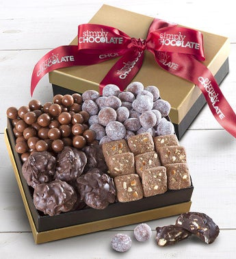 Simply Chocolate Indulgences Gift Box