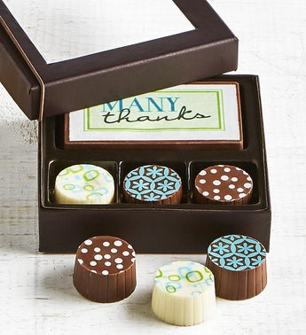 Simply Chocolate Thank You Bar  Truffles