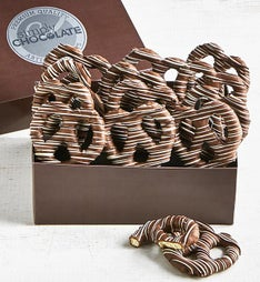 Simply Chocolate Divine Chocolate Pretzel Twists