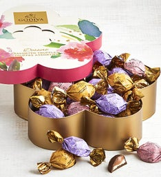 Godiva Spring Flower Shaped Box 32pc