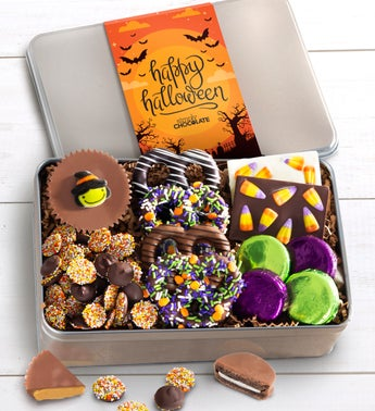 Simply Chocolate Happy Halloween Confections Tin