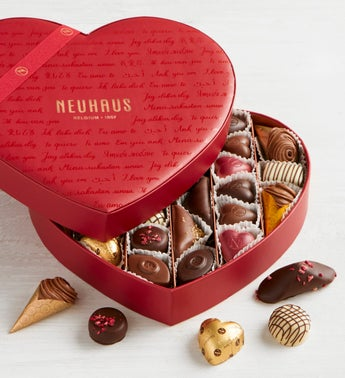 Neuhaus Infinite Love 28pc Heart Box