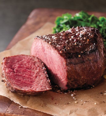 Filet of Top Sirloin - Two 6-Ounce USDA Prime