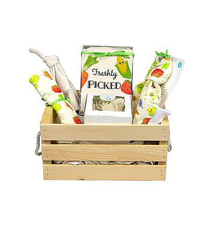 Organic Baby Gift Basket Freshly Picked