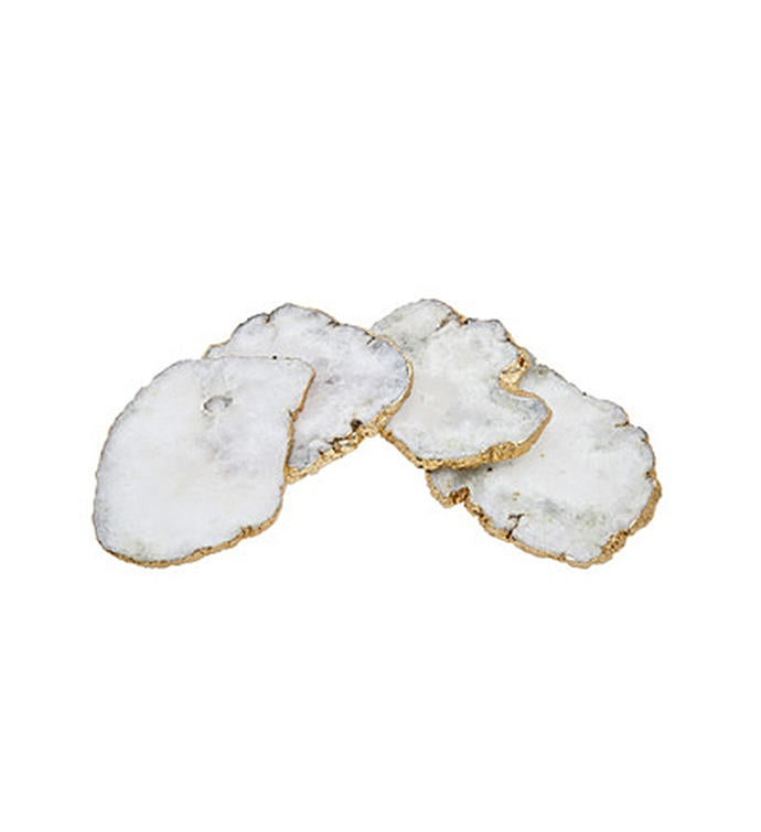 White Quartz Coasters
