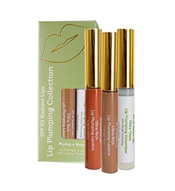 Radiant Lips; Lip Plumping Serum & Matte Lipstick Set