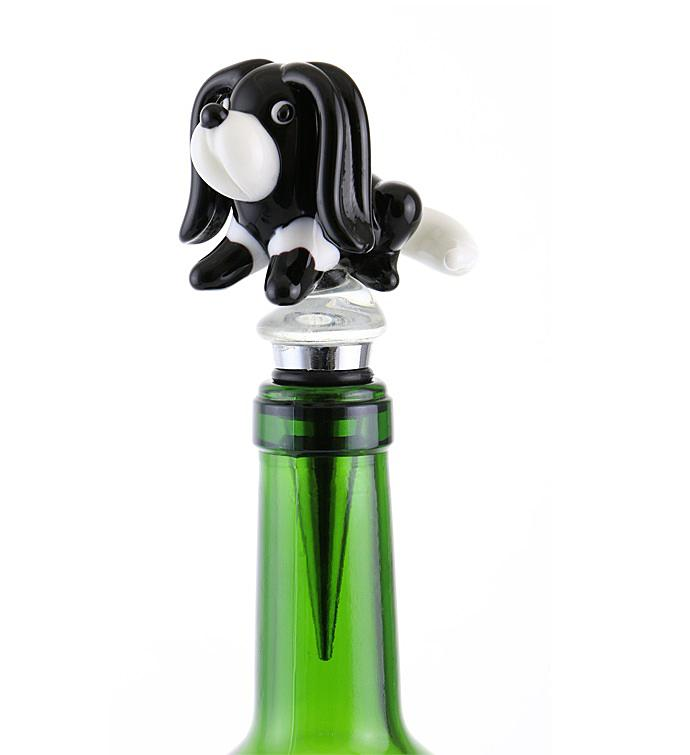 Dog Bottle Stopper