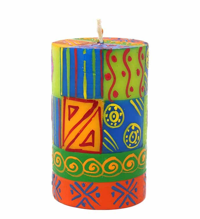 Shahida Design - Handpainted Candle