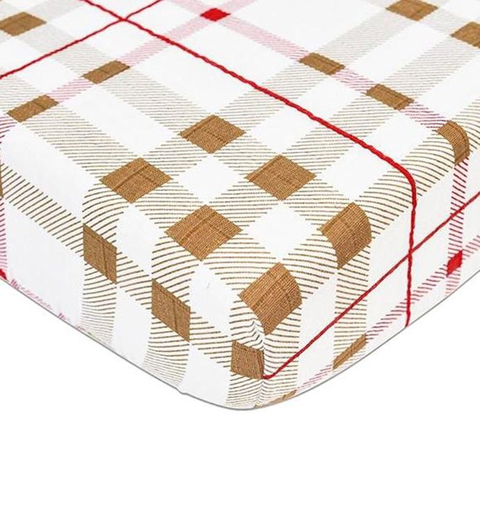 Cotton Muslin Crib Sheet - Patterned