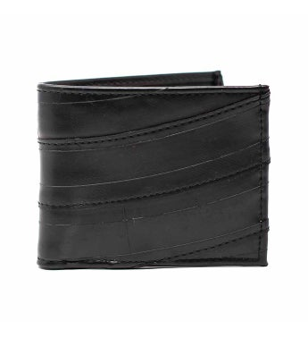 Men's Recycled Tire Bi-fold Wallet