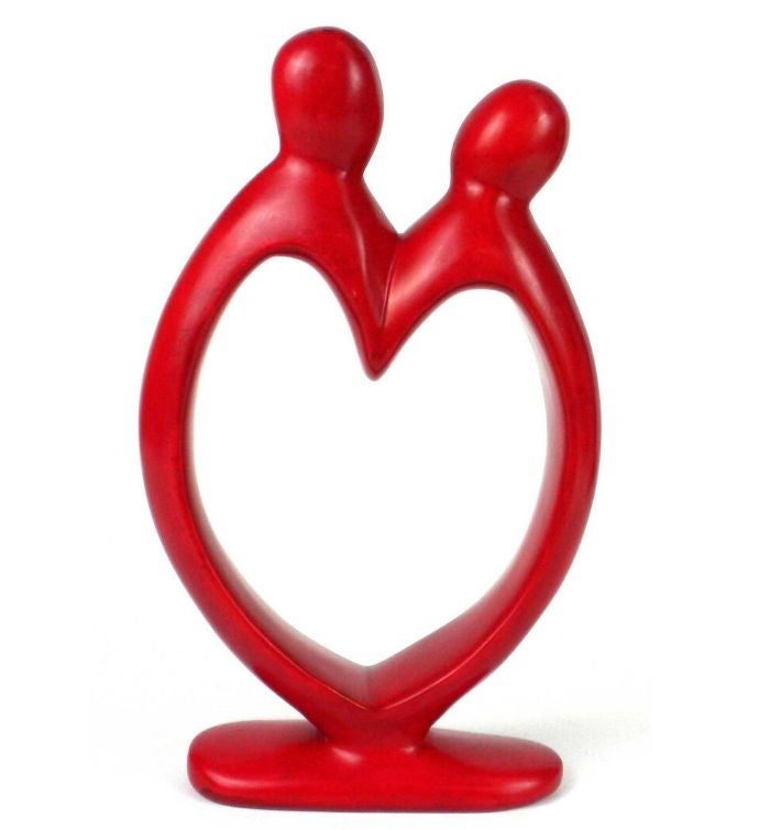 Handcrafted Red Lover39s Heart Sculpture