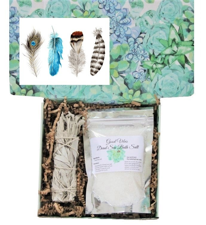 Good Vibes Sage Gift Box
