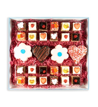 Deluxe Valentines Assortment of Rice Krispie Treats