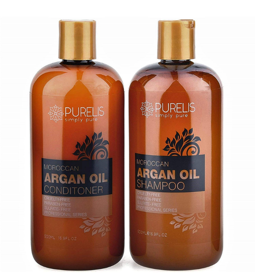 Purelis Argan Oil Shampoo & Conditioner Set
