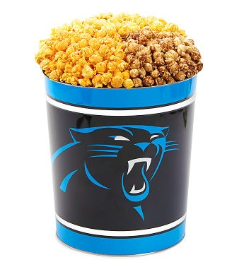 Carolina Panthers 3-Flavor Popcorn Tins