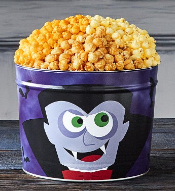 Monster Mash Dracula 2 Gallon 3 Flavor Popcorn Tin