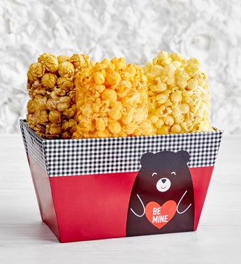 Beary In Love Popcorn Trio