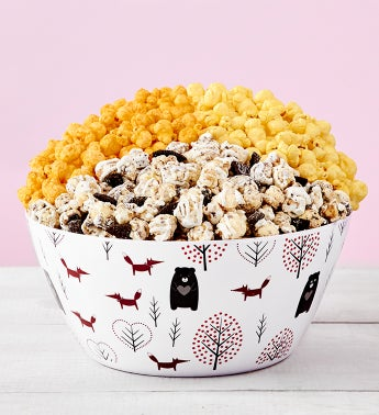 Beary In Love Popcorn Bowl