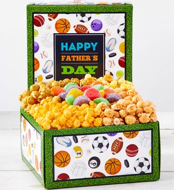 Happy Fathers Day Snack Sampler
