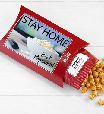 Cards With Pop Stay Home Eat Popcorn